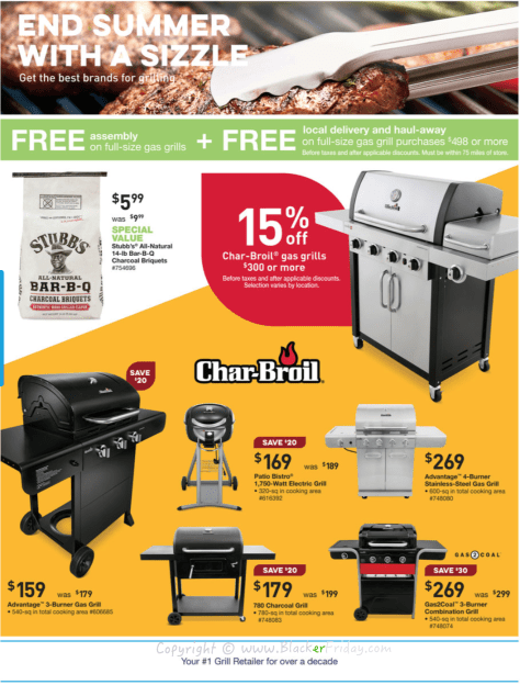 Lowes Labor Day 2016 Sale Flyer - Page 3