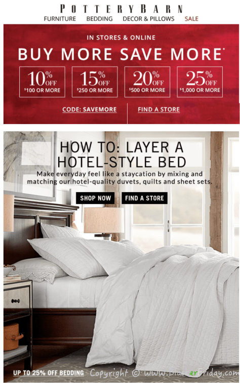 Pottery Barn S Labor Day Sale 2018 Blacker Friday
