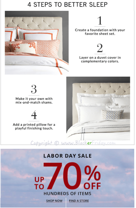 Pottery Barn Labor Day 2016 Sale - Page 2