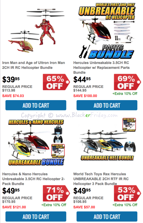 HobbyTron Black Friday Sale Flyer - Page 2