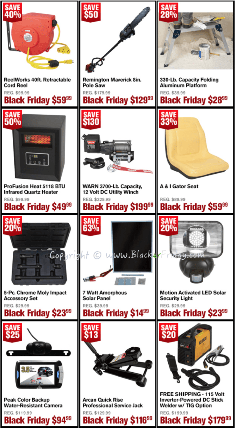 Northern Tool Black Friday Sale Flyer - Page 2