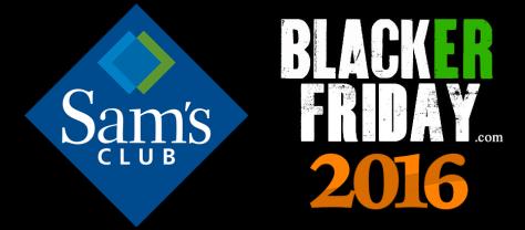 Sams Club Black Friday 2016