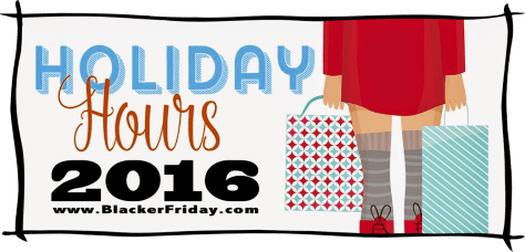 Thanksgiving and Black Friday Store Hours 2016
