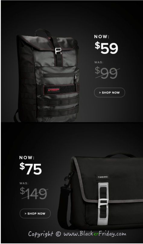 Timbuk2 Black Friday Sale Ad Flyer - Page 2