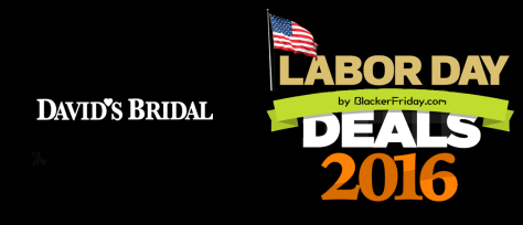 Davids Bridal Labor Day Sale 2016