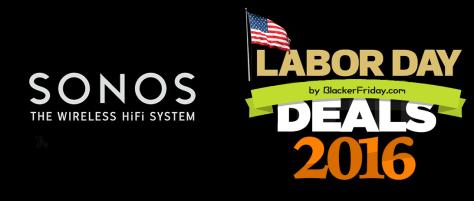 Sonos Labor Day Sale 2016