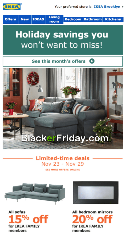 Ikea Black Friday 2017 Deals Furniture Sale After