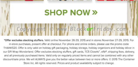 The Container Store Black Friday 2018 Sale & Deals ...
