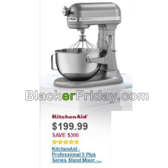 Best Buy Kitchen Aid Used Cabinets Sale Kitchenaid Mixer Black Friday 2019 Sales Deals Blackerfriday Com 2016