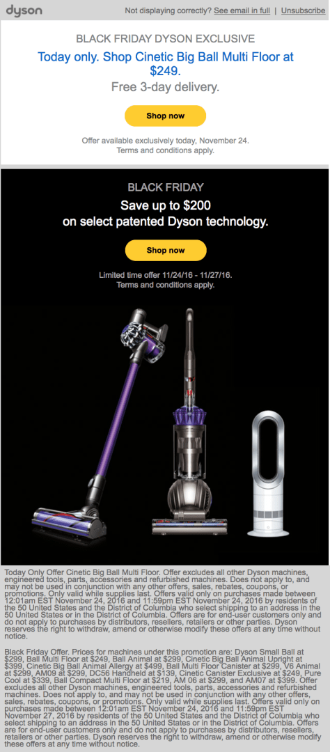 Dyson Black Friday 2019 Sale Amp Deals Blackerfriday Com