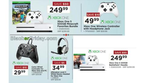 Xbox One S Black Friday 2019 Sale & Bundle Deals