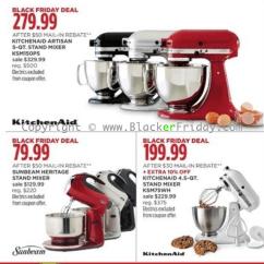 Walmart Kitchen Aid Mixer Hgtv Cabinets Kitchenaid Black Friday 2018 Sale & Deals - Blacker ...
