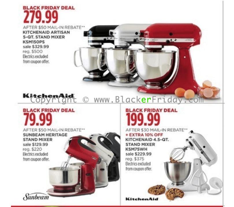 walmart kitchen aid mixer cabinets decor kitchenaid black friday 2018 sale & deals - blacker ...