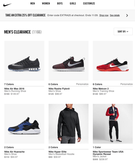 233b27debca2 Nike Black Friday 2019 Sale   Outlet Deals - BlackerFriday.com