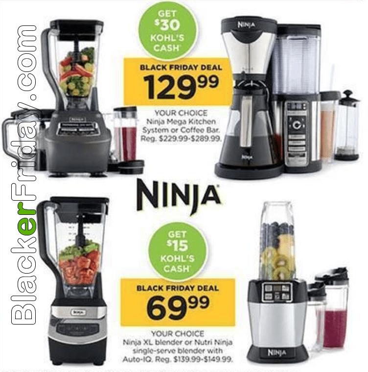 ninja 1500 watt mega kitchen system commercial door blender black friday 2019 sale & deals ...