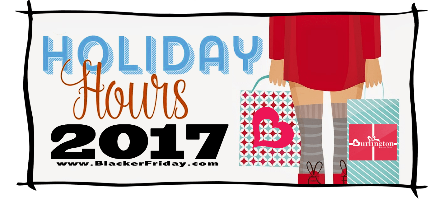 Burlington Coat Factory Black Friday Store Hours 2017