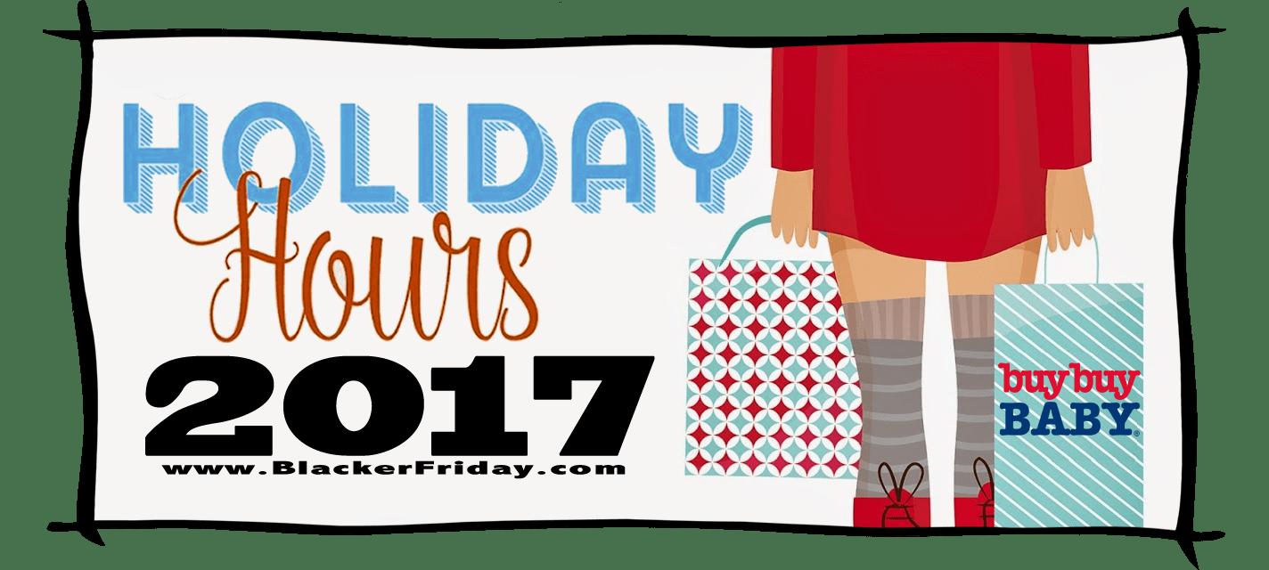 Buy Buy Baby Black Friday Store Hours 2017