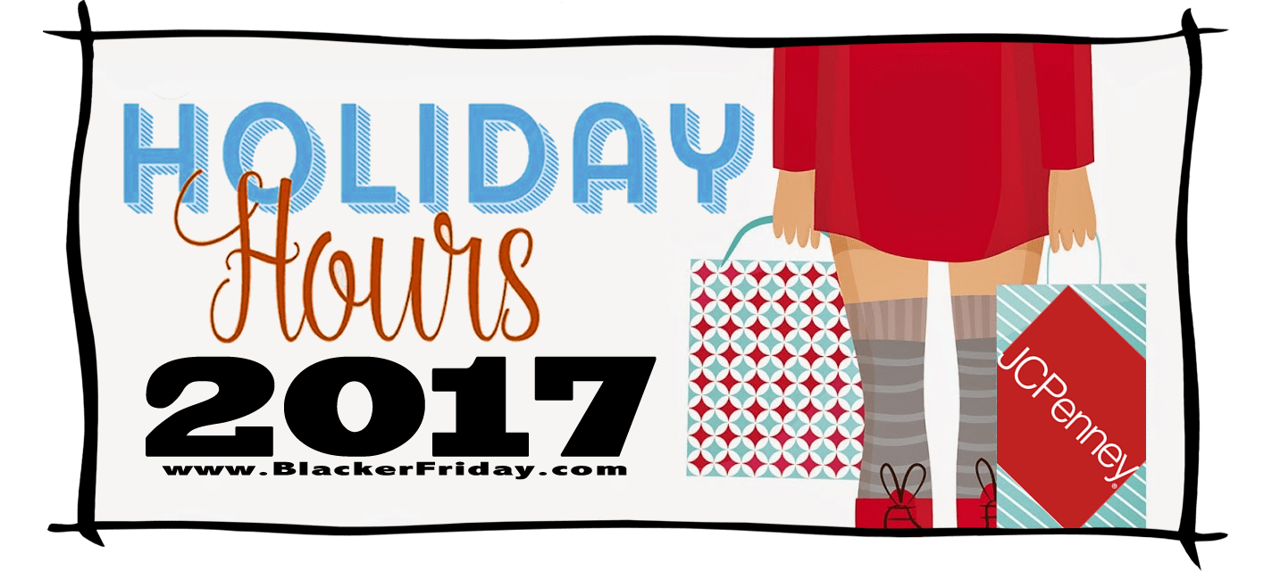 JC Penney Black Friday Store Hours 2017