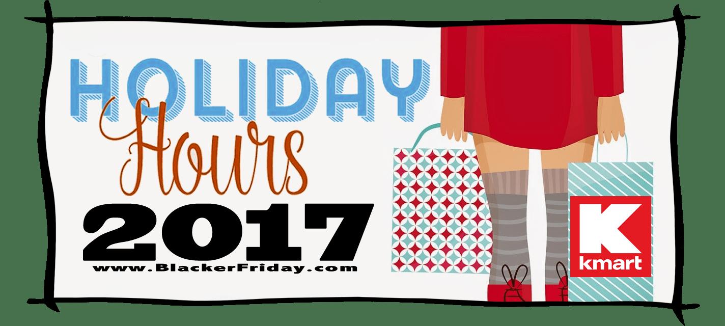 Kmart Black Friday Store Hours 2017