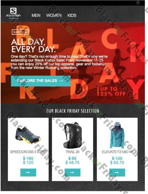 b93f9e0e452ce Salomon Black Friday 2019 Sale & Deals - BlackerFriday.com