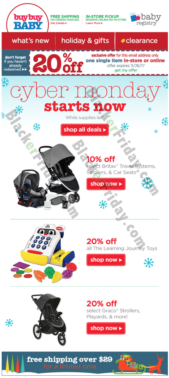 Buy Buy Baby Cyber Monday 2018 Sale & Deals - Blacker Friday