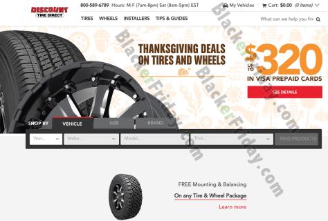 Discount Tire Cyber Monday 2019 Sale Rebates Blackerfriday Com