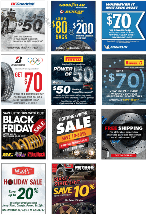 Deals On Tires >> Tire Rack Cyber Monday 2019 Sale Deals Blacker Friday