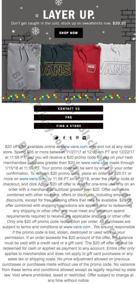 98fcd6fed5e Vans Shoes Cyber Monday 2019 Sale - BlackerFriday.com