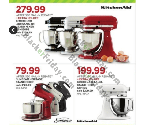 Kitchenaid Mixer Black Friday 2018 Sale Amp Deals Black