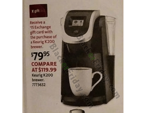 Keurig Black Friday 2019 Sale K Cup Coffee Brewer Deals