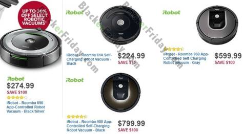 Irobot Roomba Black Friday 2019 Sale Amp Deals
