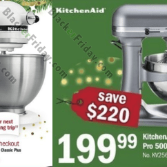 Walmart Kitchen Aid Mixer Home Depot Tiles Kitchenaid Black Friday 2018 Sale & Deals - Blacker ...