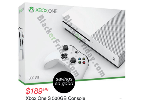 c8c71eb59aa Fred Meyer  You ll not only be able to pick up the Xbox One S 500G console on  sale for  189.99 (that s  90 off) at Fred Meyer s Black Friday sale this  year