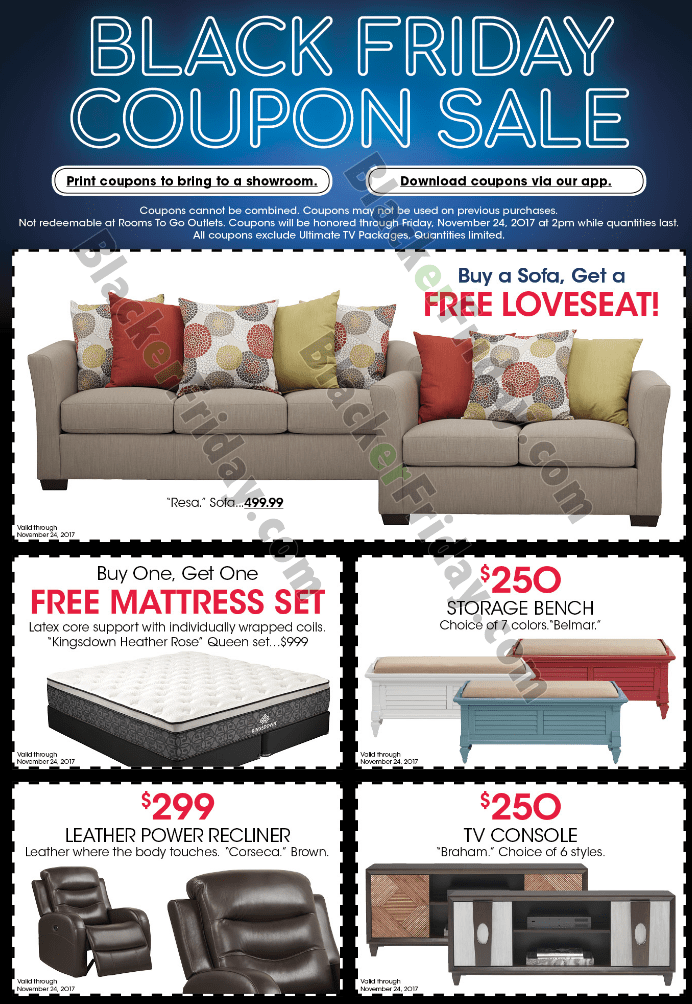 ... Buy A Sofa Get A Love Seat Free, Up To $500 Off Select Bedroom Sets,  And $200 Off Select Wall Units. Weu0027ve Posted The Highlights In The Ad Below.