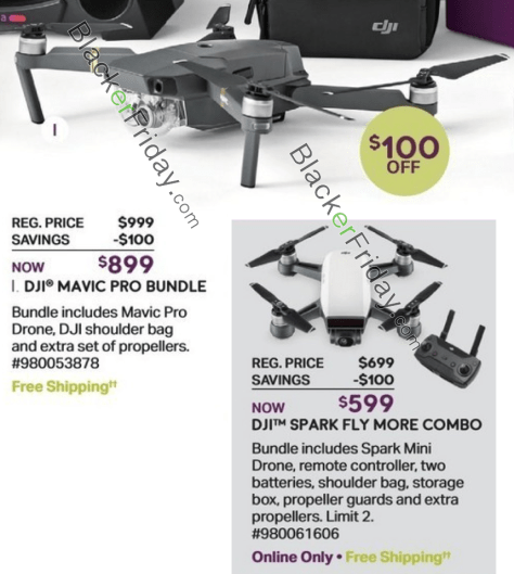 c854a7e34eb Target: Target's Black Friday 2017 ad has two DJI drones for you to choose  from. The first in the Spark Mini Drone that's on sale for $399 (that's  $100 off) ...