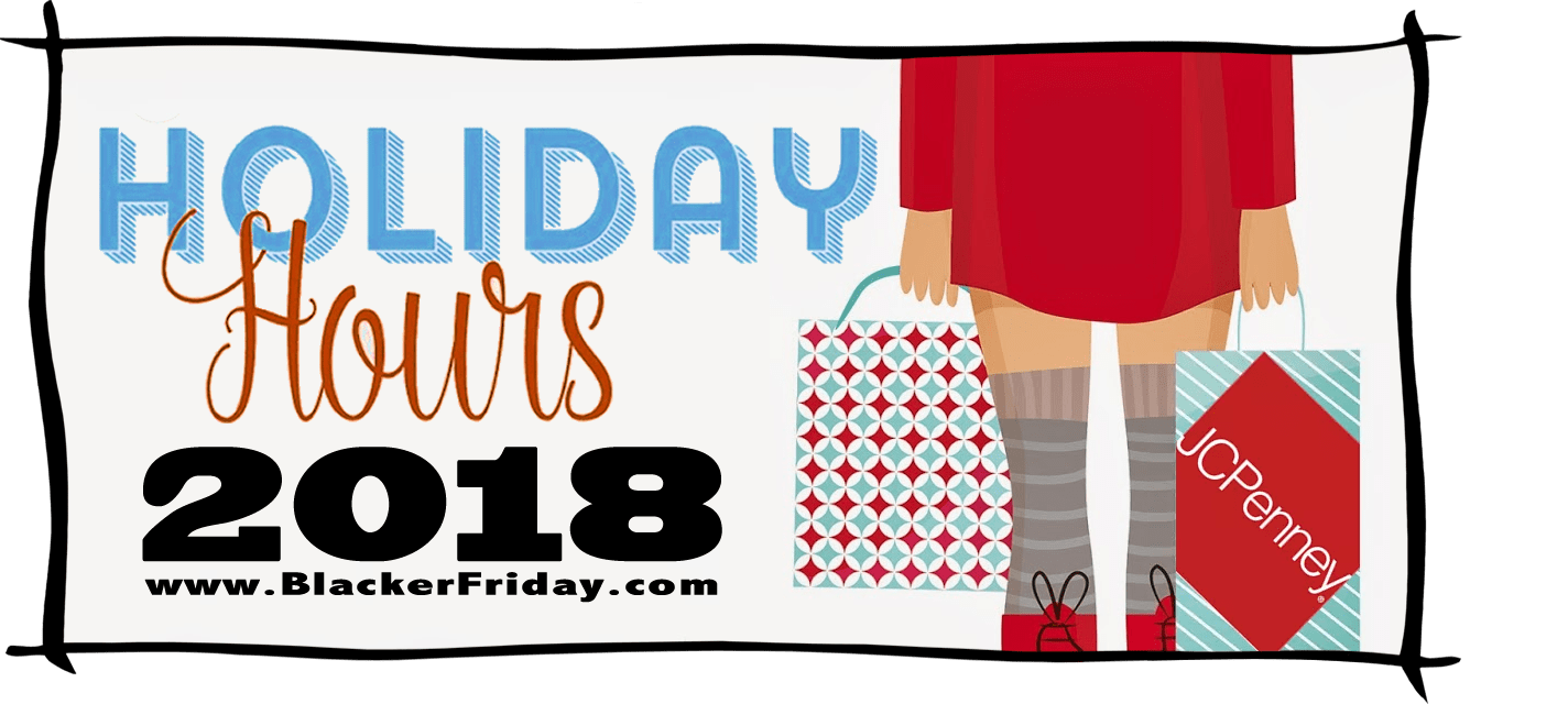 JC Penney Black Friday Store Hours 2018