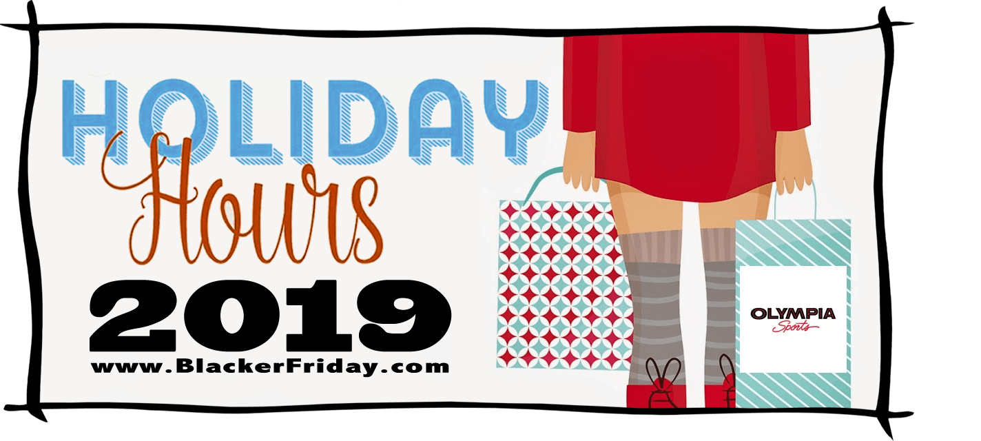 Olympia Sports Black Friday Store Hours 2019