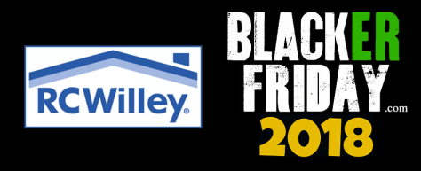 RC Willey Black Friday 2018 Sale Deals Ad Scan