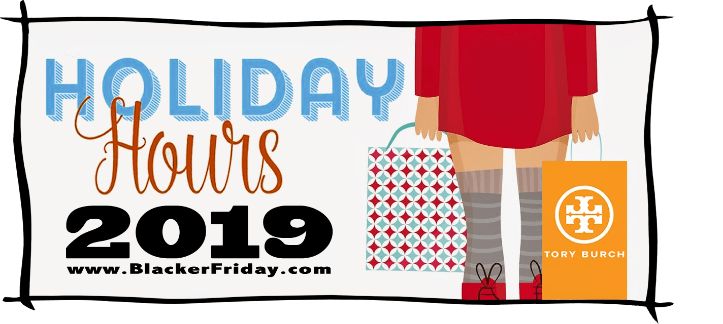 Tory Burch Black Friday Store Hours 2019
