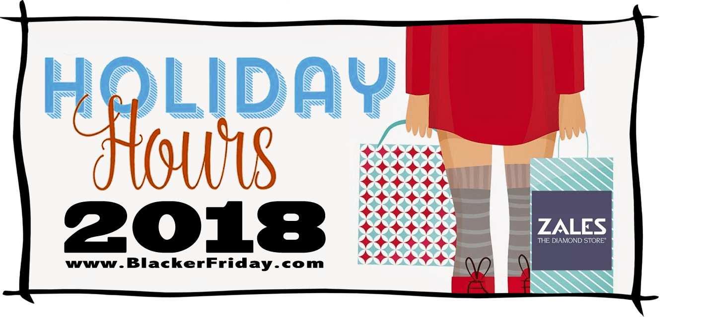 Zales Black Friday Store Hours 2018
