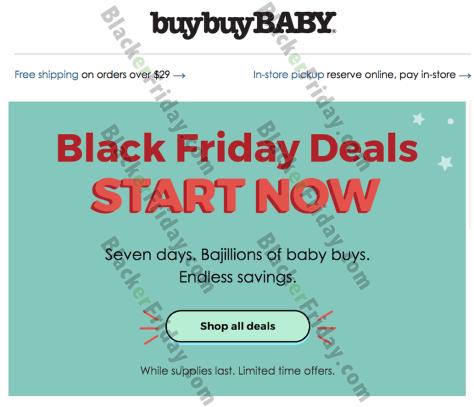 Buy Buy Baby Black Friday 2019 Sale & Deals - Blacker Friday