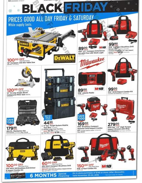 milwaukee tools black friday 2019 sale & deals - blackerfriday.com