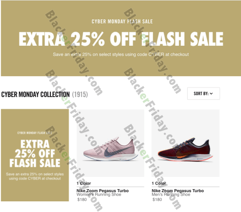 903a18f63e ... Check out the deals at nike.com to save up to 25% off on your favorite  sneakers. We ve posted their ad below with the sale highlights.