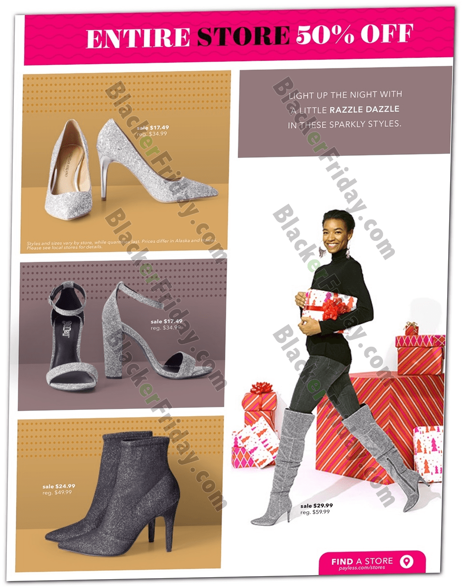payless sparkly boots
