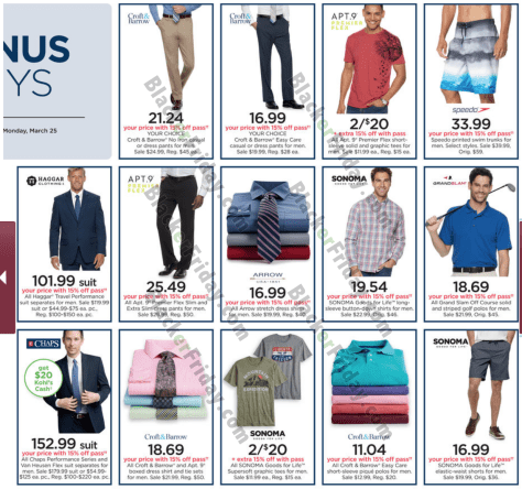 aa0a93c0 Kohl's Weekly Ad - Valid Through March 31, 2019 - BlackerFriday.com