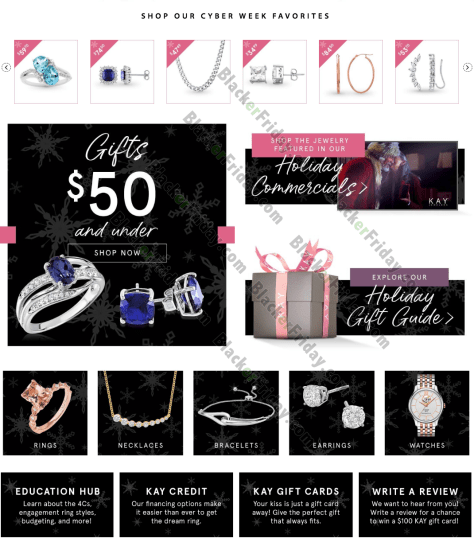 Kay Jewelers Cyber Monday Sale 2020 What To Expect Blacker Friday