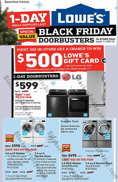 Lg Washer Dryer Black Friday 2020 Sale Deals Blacker Friday