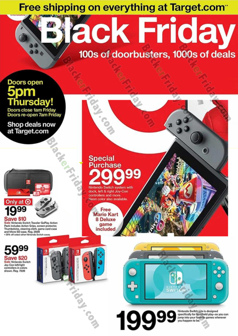Nintendo Switch Black Friday 2020 Sale What To Expect Blacker Friday