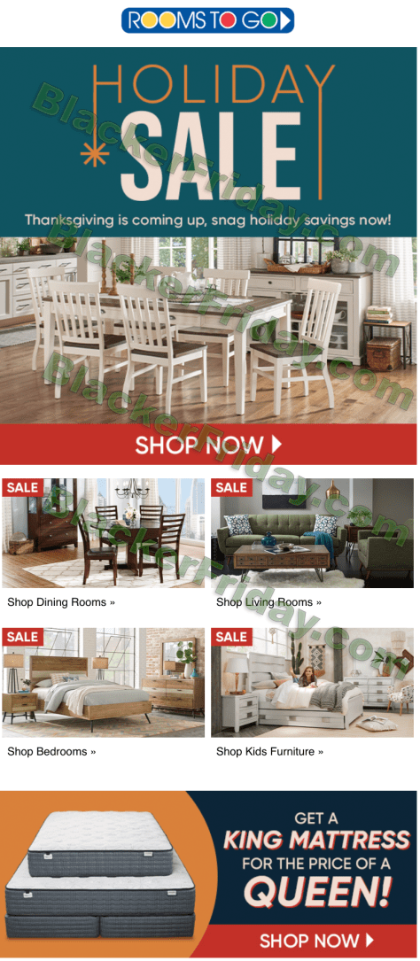 Rooms To Go Black Friday 2021, Furniture Black Friday Ad 2020