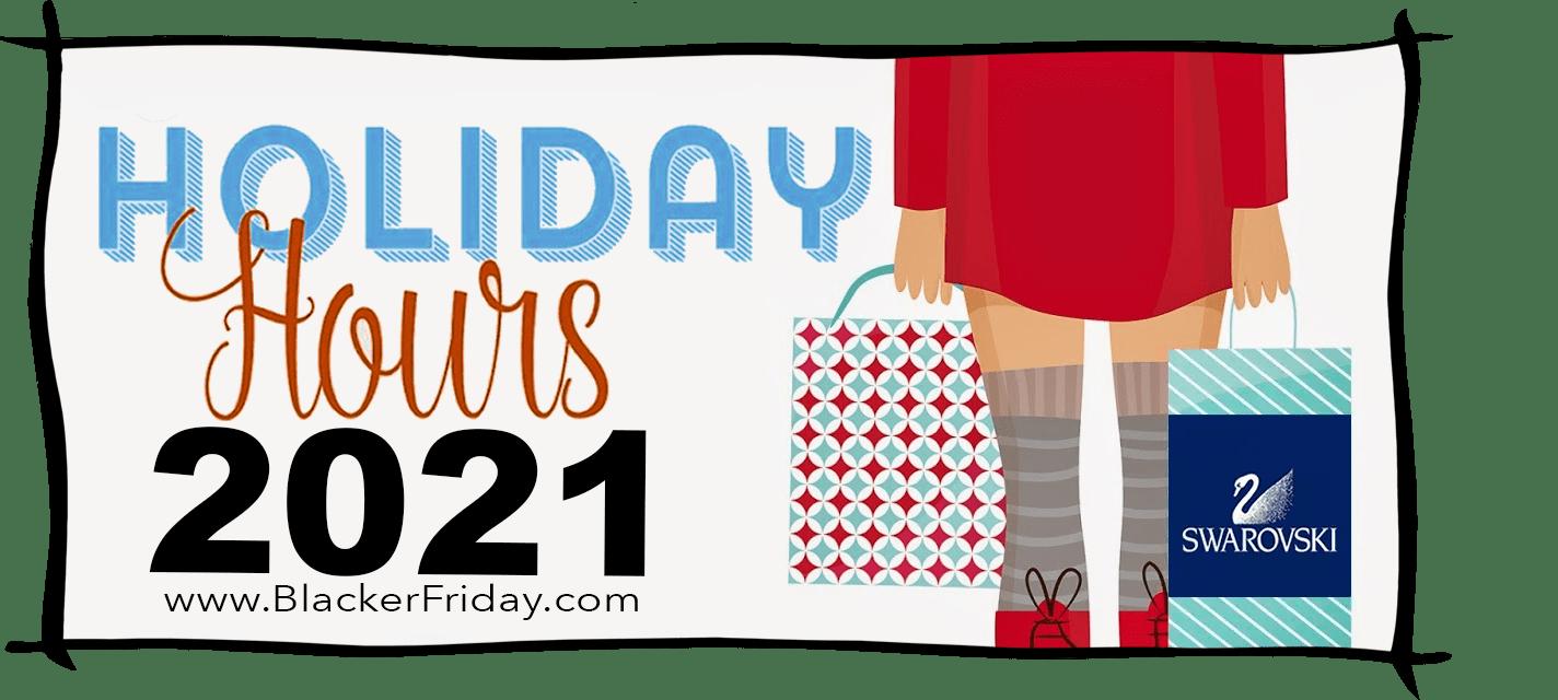 Swarovski Black Friday Store Hours 2021